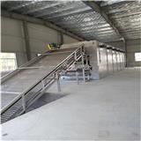 连续网带式干燥机,DW单层带式干燥机,带式干燥机