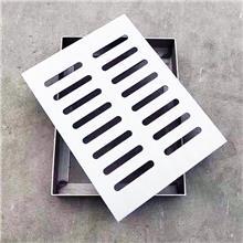 生产定制 不锈钢井盖定做 马路雨水篦子 下水道盖板