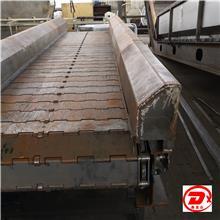 废钢铁送料传送带-剪板机专用链板传送带