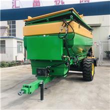 修路用水泥粉料布料机 牵引石灰撒布机 大容量石灰撒布机均匀布料