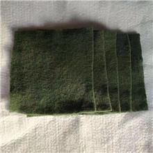 南京150g绿色防尘土工布 墨绿色盖土布 防尘工地建设建筑   厂家直销