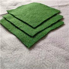 云南 各种规格草绿色土工布 无纺布绿色道路建筑布   厂家直销