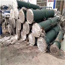 二手不锈钢冷凝器 二手石墨冷凝器  二手不锈钢列管冷凝器 长期供应