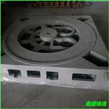 机床铸件_机床底座_异型铸铁件定做_树脂砂HT250机床床身