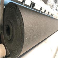 厂家现货供应黑色烧毛土工布 短丝无纺土工布 加筋抗拉伸土工布