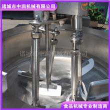 山东中润 大型中央厨房全智能PLC控制 多爪电磁加热行星搅拌炒菜机