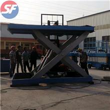 固定式装卸平台  北京导轨式升降机  硕锋装卸货平台厂家    垂直液压升降平台