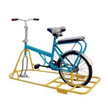 冬季大型滑雪场游乐设备冰雪儿童亲子双人自行车独轮逍遥车