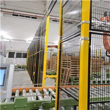 定做工厂机器安全防护栏_仓库隔离围栏_机械设备围网_喷塑