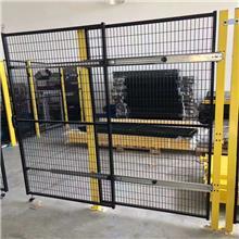林瑞_仓库铁丝网围栏_机械设备围栏_机器人防护网_可定制高度