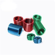 不锈钢钢丝螺套 非标牙套 绿色螺纹护套 汽车配件其他紧固件连接件