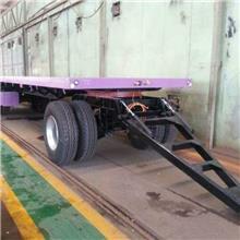 四川地区6米转盘式全挂拖车 山区运输方便灵活