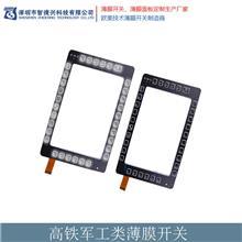 深圳仪器仪表类模板面板 薄膜开关面板厂家 智德兴