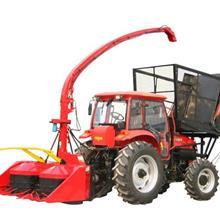 拖拉機改的青儲機  拖拉機帶什么青儲割臺