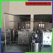 整机不锈钢家用自动豆干机 豆腐皮机械设备 磨浆煮浆生产线