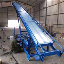 袋裝土豆輸送機 糧食裝車皮帶輸送機 伸入集裝箱大米玉米裝卸車傳送帶 皮帶上料機