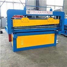沧州瑞达机械生产镀锌板压平开平设备 平整度可同步调节数控开平剪板机 开平机厂家