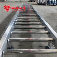 厂家直销滚筒输送机 定制建材箱包通用滚轮输送机
