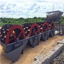 双盈河沙洗沙机 海沙淡化设备 轮斗洗砂机