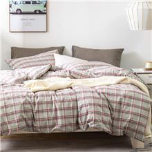 河北家居家纺生产厂家定制宾馆床上六件套 夏雨梦 新款水洗棉床品