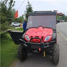 箱體式全地形消防摩托車可快速抵達火源現場  及時到位 出水迅猛