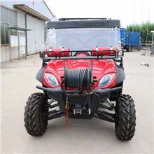 開放式全地形消防摩托車配備滅火裝置 精工打造 為安全保駕護航