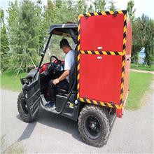 箱體式全地形消防摩托車省時省力 狹窄街道可輕松通過 方便便捷