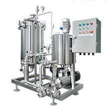 硅藻土过滤机器连泵带泵一体机酱油陈醋过滤器去杂质异味 天津海铨净化直销