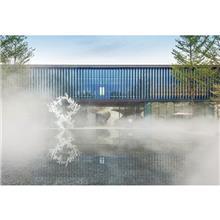 室外园林冷雾喷泉 嘉善冷雾系统 景区造景喷泉 喷雾水景制作