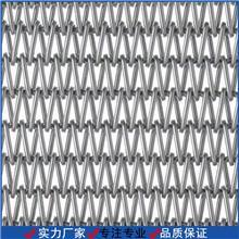 专业定制加工人字形耐高温网带 人字形网带 耐高温淬火炉网带 不锈钢网带