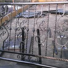 揚州供小區柵欄鐵藝鐵藝鑄鐵護欄圍欄 工廠圍墻欄桿 別墅學校鋅鋼護欄