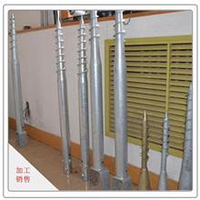 厂家现货直销螺旋地桩镀锌螺旋地桩建材家装用预制桩规格齐全量大从优