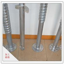 天津廠家報價直銷螺旋地樁鍍鋅螺旋地樁建材家裝用預制樁規格齊全量大從優