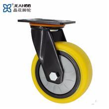 厂家制造 减震轮重型脚轮 重型pu减震脚轮 脚轮通用五金配件