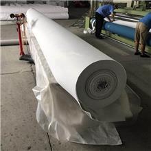 厂家供应地基处理专用丙纶土工布 河道护坡专用白色土工布