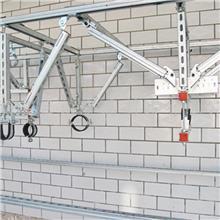 抗震支架 碳钢Q235冲孔支架 机械工业用紧固件
