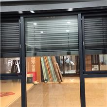 常州百叶平开窗定制 金百合门窗 铝合金遮阳一体窗