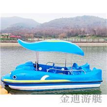 5人座自排水电动船 公园游览船 儿童水上电动船 量大优惠