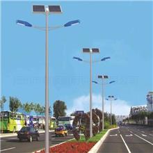 潤順照明 小區太陽能路燈安裝 LED太陽能路燈燈桿 等徑桿鋼管批發 錐形燈桿批發 來圖定制