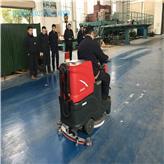 羽冠環保_拖地機器車_適用于各種地面_三輪高壓洗地車