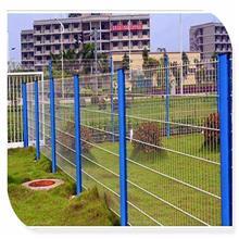 雙拓天津 桃型立柱護欄網價格 養殖場鐵絲網圍欄 山東金屬護欄