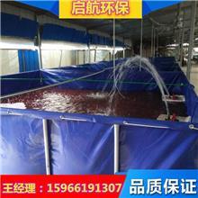 帆布鱼池价格 大型帆布鱼池 折叠鱼池 帆布鱼池厂家