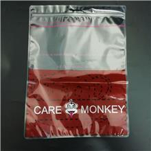 大容量服装拉链袋 皮衣内衣裤袜子自封复合高品质包装袋带股条 厂家定制