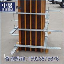 中晟建材直銷新型建筑方柱扣  可調節緊固件  方柱加固件  規格齊全  支持加工定制