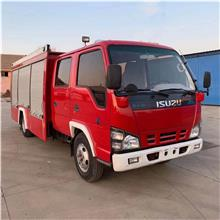 五十铃二手消防车 3吨消防车 小型消防车