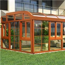 铝合金阳光房 现代阳光房 建材家装