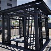 铝合金中式凉亭 亿贝特 景观工程设计 安装厂家