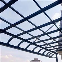 阳台铝合金雨棚 亿贝特 建材家装 抗台风