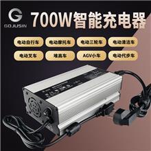 大功率54.6V10A電動車鋰電池充電器48V 二輪三輪摩托車快速充電器
