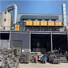 处理废气设备_催化燃烧废气净化设备_活性炭吸附脱附催化燃烧装置
